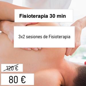 bono fisioterapia 30 min
