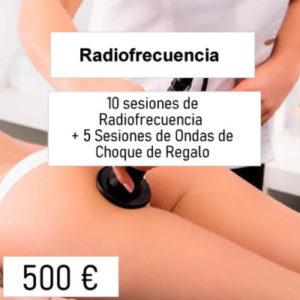 bono descuento radiofrecuencia