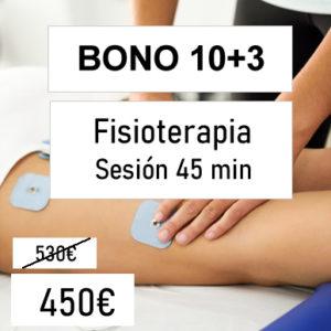bono descuento fisioterapia 10 sesiones