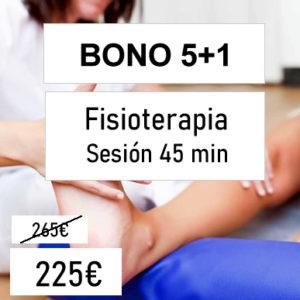 bono fisioterapia 5+1