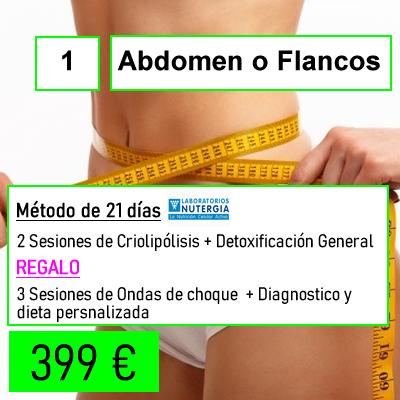 bono abdomen o flancos